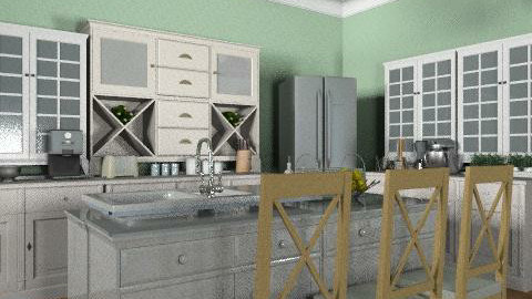 Growing Family Home: Kitchen 2 - Country - Kitchen  - by reedj0218