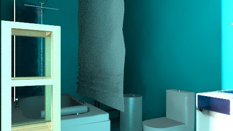 Something Simple  - Minimal - Bathroom - by RunWild