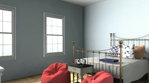 Bedroom Ideas - Vintage - Bedroom  - by Katherine100