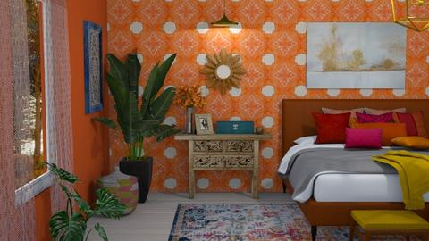 Bedroom in Colour - Bedroom  - by kyrabaldwin