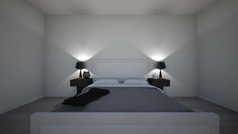 Modern_Minimalist  - Bedroom - by KKArntz