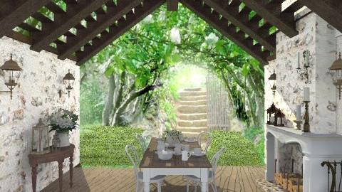 down a garden path - Country - Garden  - by starsector