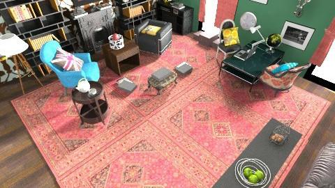 Sherlocks living room - Classic - Living room - by whoivan6722