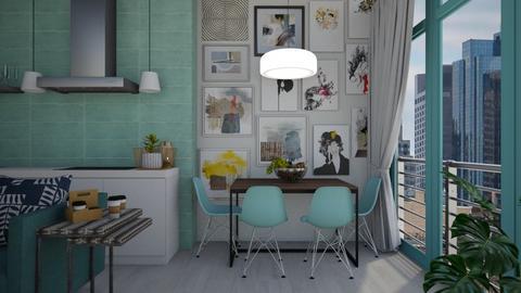 my apartment - by heynowgregory