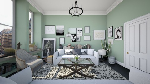 Art and Book - Living room - by Lizzy0715