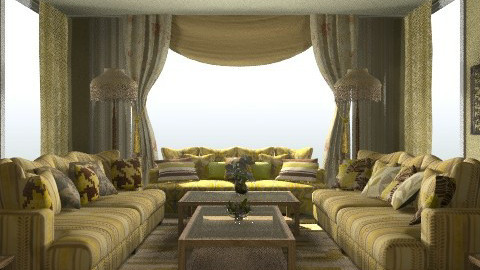 rich - Classic - Living room - by 5ruzk