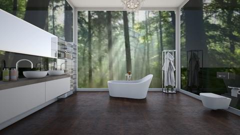 secret cottage I - Modern - Bathroom  - by sophiell