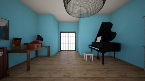 Beethoven - Modern - Bedroom  - by aquinnah28