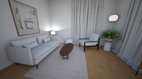 Living room small rug ups - Living room  - by MarikaMV