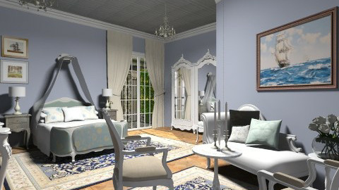 Blue royal - Classic - Bedroom  - by Thrud45