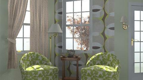 teázó szeglet - Rustic - Living room  - by Laurika