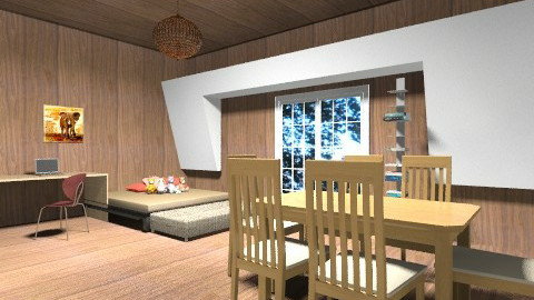tree house divine - Country - Bedroom  - by maleigha__01