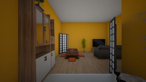 japanes room ya k hahahha - Classic - Bedroom  - by pookidkmydadisablower