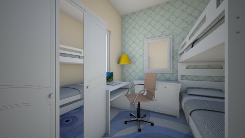 students - Bedroom  - by emiragiba