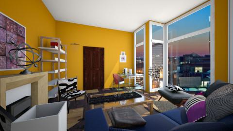contest4 - Living room  - by marindekica22