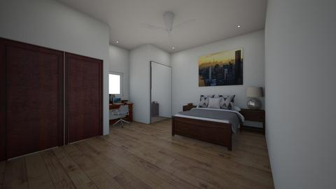 Wooden Bedroom - Modern - by Sophia_Pavate_