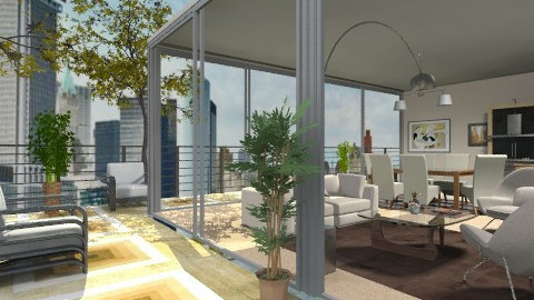 view - Modern - Garden  - by fhrea