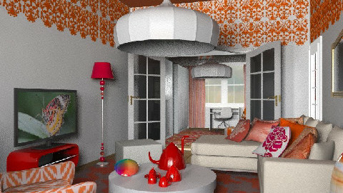mdom1 - Eclectic - Living room  - by chania
