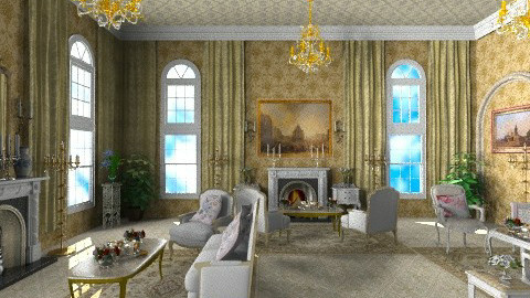 The Queen Tea - Classic - Living room  - by Bibiche