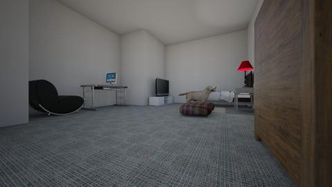 Austin Gaming Bedroom - Bedroom  - by Austin Schroeder