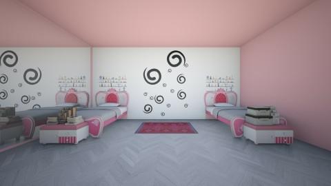 twinen room  - Modern - Kids room  - by malakyasir55