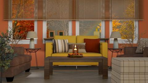 REMIX turned fall - Living room  - by RaeCam