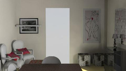 salle manger V8 - Dining Room  - by johanne