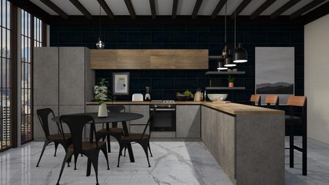 Jimothy - Modern - Kitchen  - by evabarrett