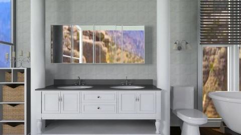 Vanity Bathroom - Modern - Bathroom  - by deleted_1513655778_Valencey14