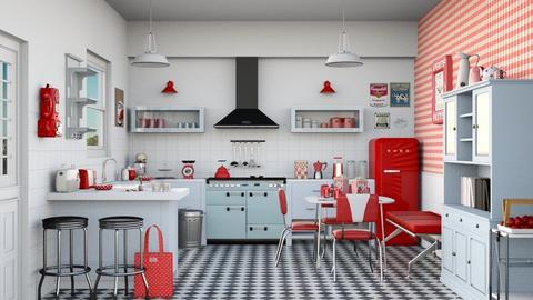 Vintage kitchen - Kitchen  - by Charipis home