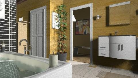 wood bath - Modern - Bathroom  - by milyca8