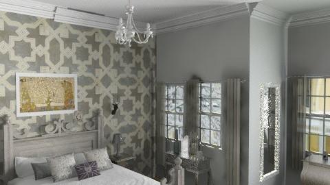 Metallics - Classic - Bedroom  - by rosiedoll