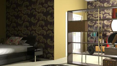 rawchill - Retro - Bedroom  - by rawchill