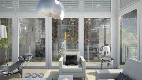 Glass - Modern - Living room  - by milyca8