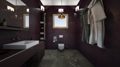 Apartment Tiny Toilet - Minimal - Bathroom  - by Ravina_9069