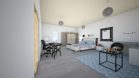 2 People love - Bedroom - by EmiliaWadranska