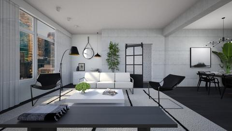 Mono - Living room  - by diegobbf