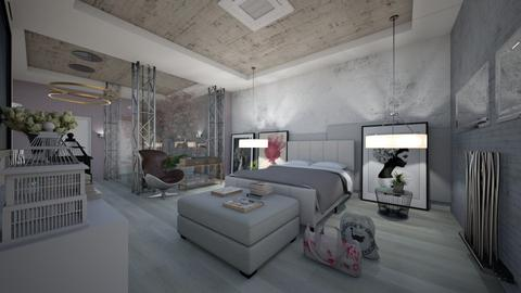 Modern_Hotel_Suites_Creation - Modern - Bedroom - by Nikos Tsokos