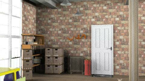 the bowery flat 2-entrance - Eclectic - by kitty