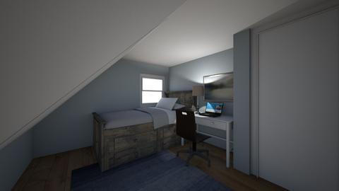 Boys Room Proposed 2 - Bedroom  - by amydelisle