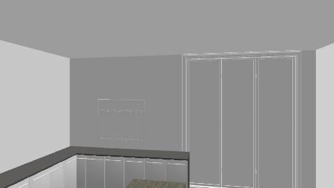 kitchen blocked window - Eclectic - Kitchen  - by binaberry