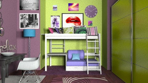 anitas room - Bedroom  - by Anita Selgrad
