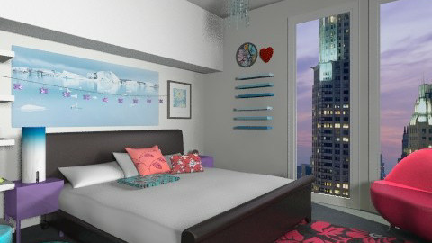 Cherry bomb - Glamour - Bedroom  - by isabelamoura