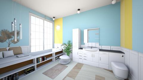 coastal bathroom - Bathroom  - by melati_am