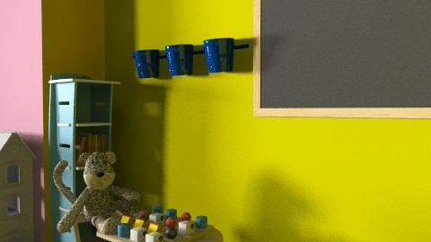 játszószoba/rajzsarok - Classic - Kids room  - by Audrey17