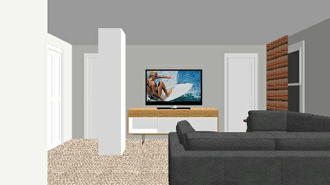 basement ideal - Living room - by mshockley