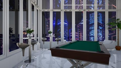 Snooker room - by snezzza