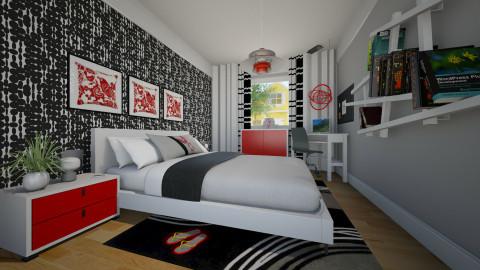 Teen Bedroom - Eclectic - Bedroom - by Theadora