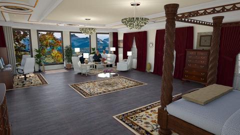 Mstr Bdrm ideas - Glamour - Bedroom - by alonatech_2nd