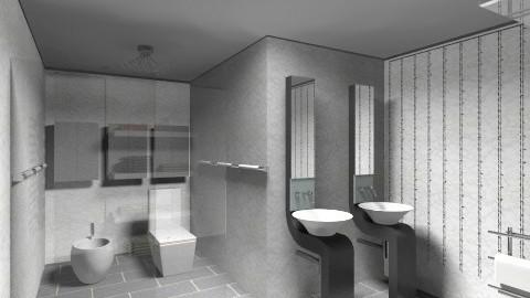 Restroom simplicity - Minimal - Bathroom - by APInteriors